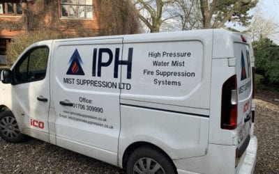 IPH Mist Suppression's Water Mist System